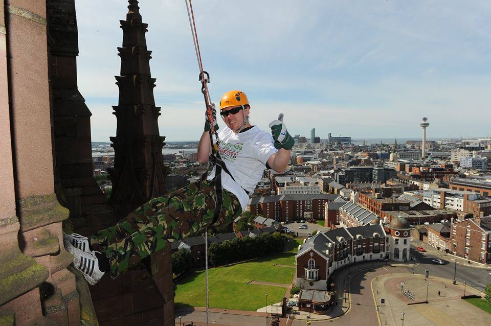 Liverpool Cathedral Abseil – 17/8/2019