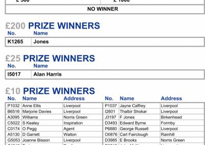 Lotto SD Wk 1 Yr 2 Results