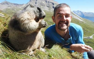 Andrew, vegan artist and biologist