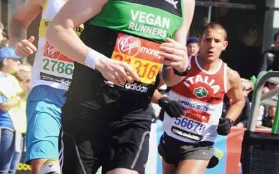 Simon, long distance vegan runner.